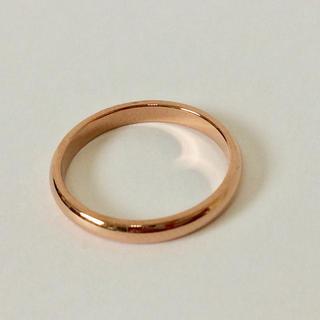 指輪 リング 5号 ローズゴールド 新品 ピンキーリング(リング(指輪))
