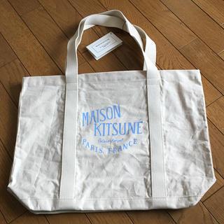 MAISON KITSUNE' - 新品未使用 メゾンキツネ トートバッグ