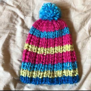 バートン(BURTON)のニット帽(ニット帽/ビーニー)