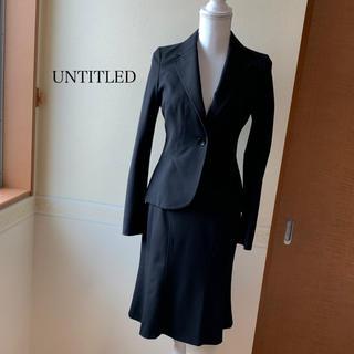 UNTITLED - UNTITLED スーツ Mサイズ ブラック