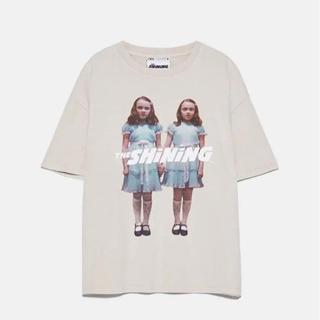 ZARA - シャイニング Tシャツ