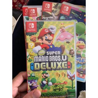 ニンテンドウ(任天堂)のNew スーパーマリオブラザーズ U デラックス Switch(家庭用ゲームソフト)