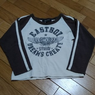 イーストボーイ(EASTBOY)のイーストボーイ サイズ110(Tシャツ/カットソー)