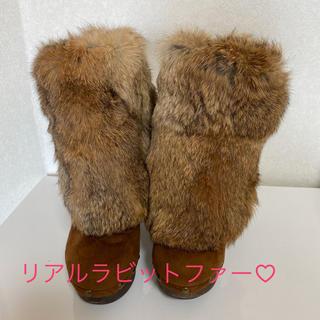 ESPERANZA - ラビットファーブーツ♡