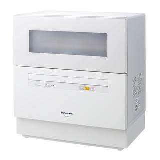 Panasonic - 食洗機 パナソニック NP-TH1 ホワイト W 白