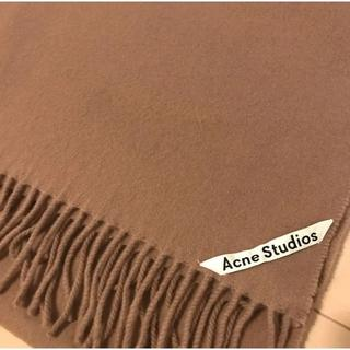 ACNE - acne studio  マフラー  キャラメルブラウン