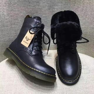 ドクターマーチン(Dr.Martens)の人気UK6ドクターマーチン Dr.Martens 新品 裏起毛 革靴 正規品(ブーツ)