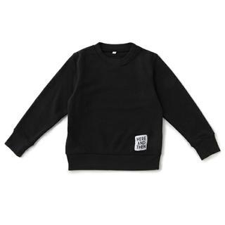 プティマイン(petit main)のΦ 新品 ビールーム 黒トレーナーΦプティマイン、ナルミヤ(Tシャツ/カットソー)