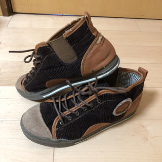 majo aile コーデュロイショートブーツ 23.5(ブーツ)