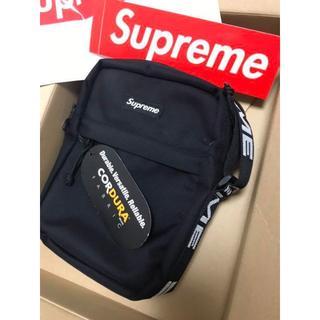 シュプリーム(Supreme)のSupreme 18SS Shoulder Bag ショルダー バッグ 黒(メッセンジャーバッグ)