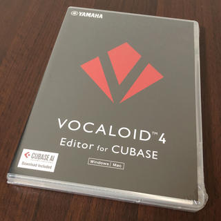 YAMAHA ヤマハ VOCALOID4 Editor for Cubase