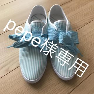 アディダス(adidas)のpepe様専用⭐︎addidas Originals ビッグリボンスニーカー (スニーカー)