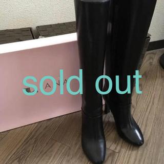 DIANA - ダイアナ ブラック ブーツ 22.5 美品