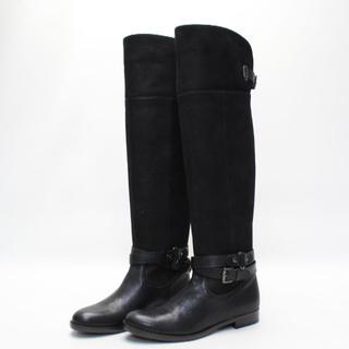 ダイアナ(DIANA)のDIANA 本革2WAYベルトロングブーツ(23cmWD)超美品(ブーツ)