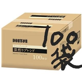 100袋DOUTOR深煎りドリップコーヒー(コーヒー)
