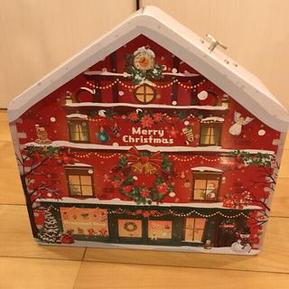 カルディ(KALDI)のカルディ  オルゴール付き クリスマスカウントダウン カレンダーハウス 未開封(カレンダー/スケジュール)