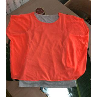 アンレリッシュ(UNRELISH)の半袖 ドルマン タンクトップ  夏 M(Tシャツ(半袖/袖なし))