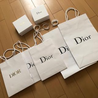 クリスチャンディオール(Christian Dior)のディオール  ショッパー、リボン、お箱(ショップ袋)