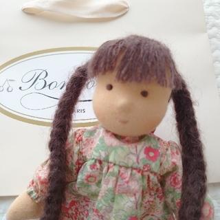 ボンポワン(Bonpoint)の【タグ付き】bonpoint ミニチェリーちゃん 人形(ぬいぐるみ/人形)