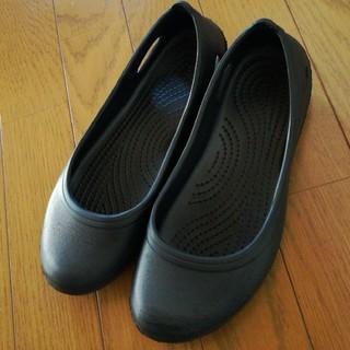 crocs - topvalue 超軽量 フラットシューズ 黒