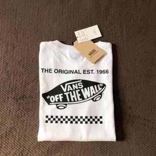 ヴァンズ(VANS)の別注:VANS/ヴァンズ ◆新品◆EST.1966 LOGO キッズ ロンT(Tシャツ/カットソー)
