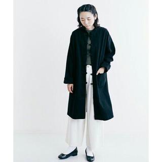 merlot - チャイナボタン コート