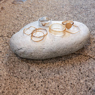 IENA SLOBE - ❈ simple ring / 7set ❊