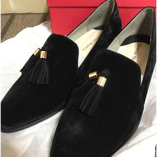 オリエンタルトラフィック(ORiental TRaffic)のブラックタッセルシューズ(ローファー/革靴)