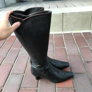 エレガンスヒミコ(elegance卑弥呼)のエレガンス卑弥呼 黒のロングブーツ(ブーツ)