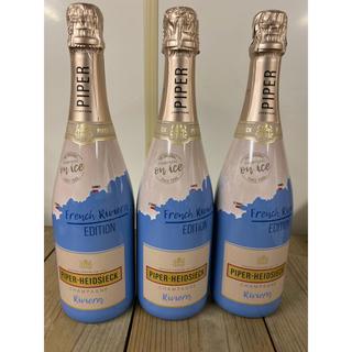 モエエシャンドン(MOËT & CHANDON)の地域限定 パイパー  リヴィエラ 750ml  3本(シャンパン/スパークリングワイン)