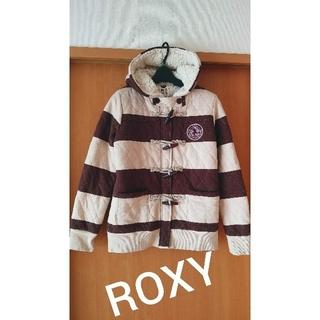 ロキシー(Roxy)の美品♪ROXY★ 暖かボア&キルトコート(ブルゾン)