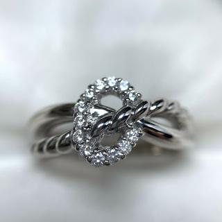 和光 pt900  ダイヤモンド 指輪(リング(指輪))