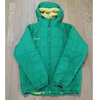 コロンビア(Columbia)のコロンビア キュンブーグレイシャージャケット 緑(ダウンジャケット)