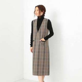 Demi-Luxe BEAMS - demi-luxe チェックワンピース