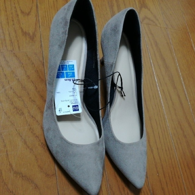 GU(ジーユー)のGU マシュマロポインテッドパンプス レディースの靴/シューズ(ハイヒール/パンプス)の商品写真