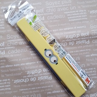 ミニオン(ミニオン)の【新品】ミニオンズ お箸&箸箱セット(弁当用品)
