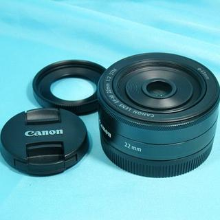 Canon - Canon EF-M 22mm F2 STM ◆美品です!◆送料込み
