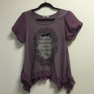 アクシーズファム(axes femme)のフリル Tシャツ(Tシャツ(半袖/袖なし))