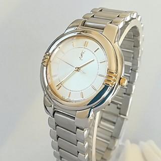 Saint Laurent - 綺麗 サンローラン レディースウォッチ 時計 3針 ブレス 卒業式プレゼント美品