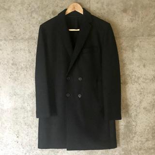 トゥモローランド(TOMORROWLAND)のハリスワーフロンドン  圧縮ウール チェスター コート ジャケット(チェスターコート)