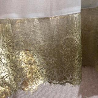 H.P.FRANCE - yuki fujisawa 金箔レース ドレス ロングカーディガン