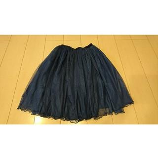 mysty woman - ☆美品☆ チュールスカート フレアスカート