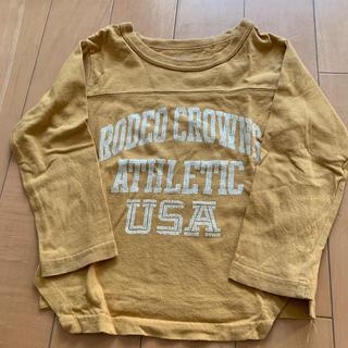 ロデオクラウンズワイドボウル(RODEO CROWNS WIDE BOWL)のロデオクラウンズ長袖Tシャツ(Tシャツ/カットソー)