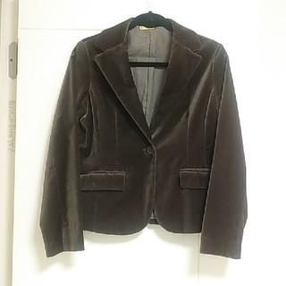 ムジルシリョウヒン(MUJI (無印良品))のベルベットジャケット(テーラードジャケット)