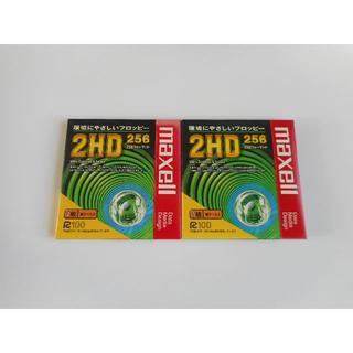 マクセル(maxell)の新品未開封 maxll 2HD フロッピーディスク 2枚 紙ケース入り(PC周辺機器)