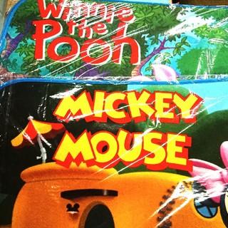ディズニー(Disney)の【くまのプーさん&ミッキーマウス】   キッチンマット  各1点ずつ(キッチンマット)