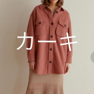 スナイデル(snidel)のSNIDEL ウールシャツジャケット(ミリタリージャケット)