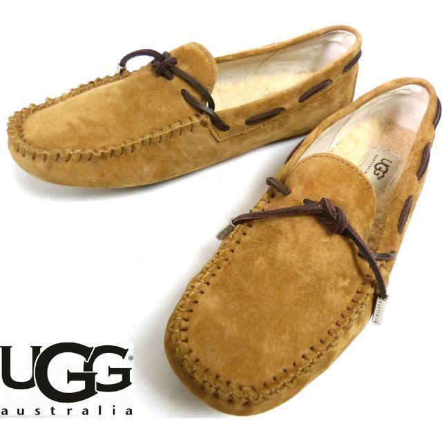 UGG(アグ)のアグ UGG australia モカシンローファー US5(24.0cm相当) メンズの靴/シューズ(スリッポン/モカシン)の商品写真