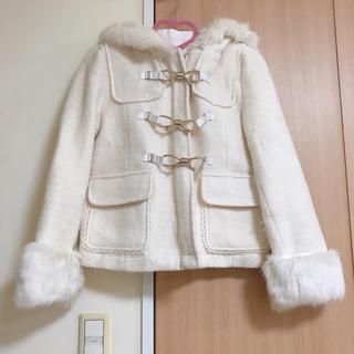 リズリサ(LIZ LISA)のLIZ LISA ショート丈 コート ホワイト (その他)