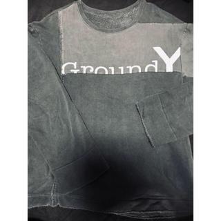 Yohji Yamamoto - 【シルエット最高】オススメ ヨウジヤマモト ground y スウェット